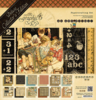 Papel scrapbooking set Deluxe ABC Primer